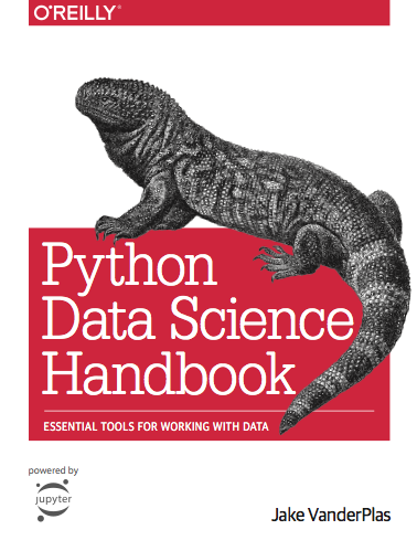 Python Data Science Handbook cover