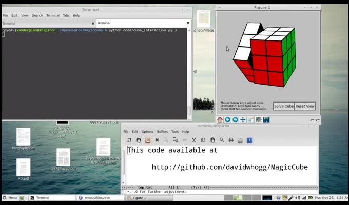 3D Interactive Rubik's Cube in Python | Pythonic Perambulations
